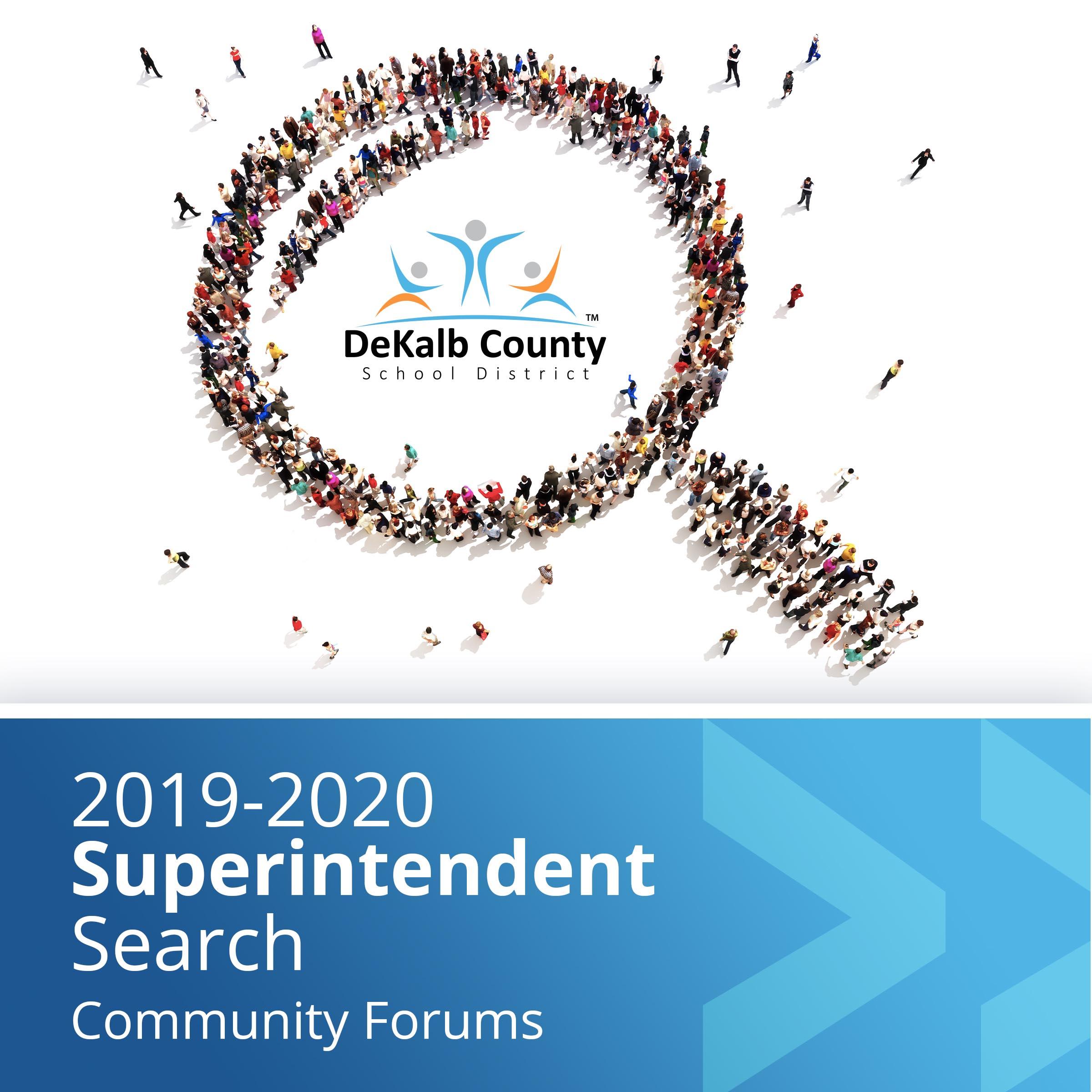 Superintendent Search Community Forum square