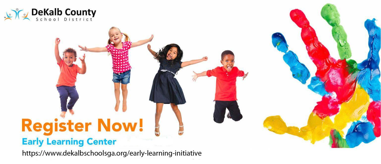 register now banner for early learning center