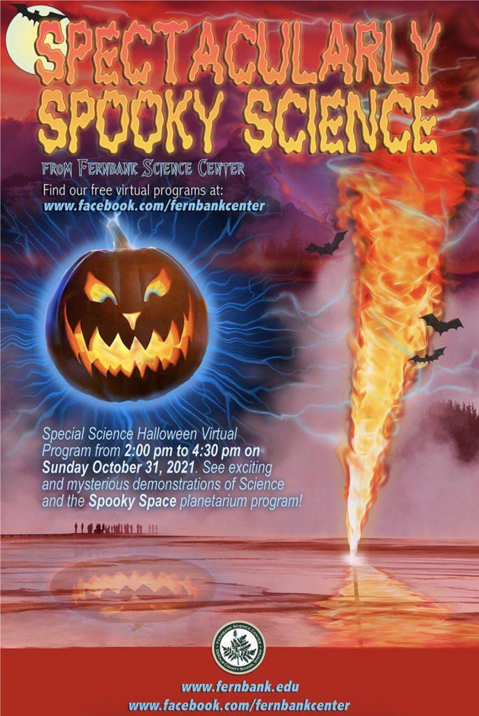 Fernbank Center Halloween program flyer